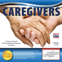 Caregivers' Comfort® A 16-Month 2016 Inspirational Planning Calendar for Caregivers